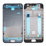 iPartsBuy for Asus ZenFone 4 Selfie / ZD553KL Middle Frame Bezel with Adhesive(Black)