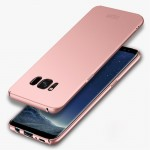 MOFI For Samsung Galaxy S8 Frosted PC Ultra-thin Edge Fully Wrapped Up Protective Case Back Cover(Rose Gold)