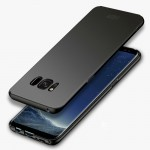 MOFI For Samsung Galaxy S8 + / G955 Frosted PC Ultra-thin Edge Fully Wrapped Up Protective Case Back Cover(Black)
