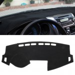 Dark Mat Car Dashboard Cover Car Light Pad Instrument Panel Sunscreen Car Mats for Chevrolet (Please note the model and year)(Bl