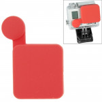 Protection Objectif GoPro TMC Silicone Cap 4/3 + Rouge - wewoo.fr