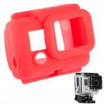 Coque rouge pour Gopro Hero 3 Housse de protection en silicone - Wewoo