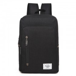 Universal Multi-Function Oxford Cloth Laptop Computer Shoulders Bag Business Backpack Students Bag, Size: 43x29x11cm, For 15.6 inch and Below Macbook, Samsung, Lenovo, Sony, DELL Alienware, CHUWI, ASUS, HP(Black)