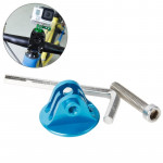 TMC Bike Head Mount with Screw & Hex Screwdriver for GoPro Hero 4 / 3+ / 3 / 2 / 1(Blue)