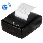QS-5802 Portable 58mm Bluetooth Receipt 8-pin Matrix Printer (Black)
