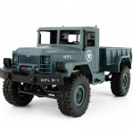 WPL B-14 1:16 Mini 2.4G 4WD RC Crawler Off Road Car with Light RTR(Blue)