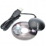 BU-353S4 USB Interface G Mouse GPS Receiver SIRF Star IV Module (Black)
