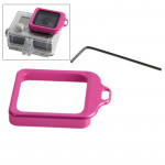 Lens Kit (Aluminum Lanyard Ring Mount & Screw Driver) for GoPro HERO 4 / 3+(Magenta)
