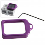 Lens Replacement Kit (Aluminum Lanyard Ring Mount & Screw Driver) for GoPro HERO 4 / 3+(Purple)