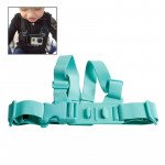 TMC junior Chest mont harnais / ceinture thoracique GoPro 4 3+ 3/2/1 Vert - wewoo.fr
