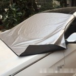 Magnetic Car Front Windshield Car Snow Block / Frost Block Cover Winter Car Snow Shield Cover Auto Front Windscreen / Rain / Fro