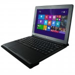 Keyboard + Leather Case with Holder for PiPo W3F / W3 / W1 Tablet(Black)
