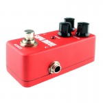 KOKKO FOD5 Mini Electric Guitar Overload Monoblock Effects Pedal (Red)