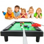 Parental Educational Indoor Children Billiards Toys American Pool Table