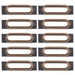 10 PCS iPartsBuy for iPhone 7 Charging Port Retaining Brackets(Gold)