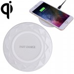 DC5V Input Diamond Qi Standard Fast Charging Wireless Charger, Cable Length: 1m, For iPhone X & 8 & 8 Plus, Galaxy S8 & S8 +, Hu