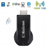 MiraScreen WiFi Display Dongle / Miracast Airplay DLNA Display Receiver Dongle Wireless Mirroring Screen Device with 2 in 1 USB