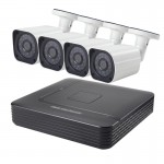 COTIER A4B6 4Ch 1080P 2.0 Mega Pixel Bullet IP Camera NVR Kit, Support Night Vision / Motion Detection, IR Distance: 15m