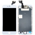 iPartsBuy 4 in 1 for iPhone 6s Plus (Front Camera + LCD (Century) + Frame + Touch Pad) Digitizer Assembly(White)