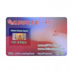 GPPLTE 4G+ PRO 3 Perfect Solution for Ultra Thin Smart Decodable Chip to Sim Card, For iPhone X / 8 & 8 Plus / 7 & 7 Plus / 6 &