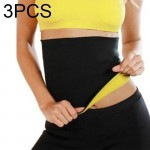 3 PCS NEOTEX HOT SHAPERS Abdomen Belt, Size: XL