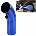 Universal Air Intake Pipe Super Power Flow Air Intakes Short Cold Racing Aluminium Air Intake Pipe Hose with Cone Filter Kit Sy