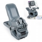 TMC Jaws Flex Clamp Mount with Buckle & Thumb Screw for GoPro Hero 4 / 3+ / 3 / 2 / 1(Grey)